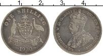 Изображение Монеты Австралия 1 шиллинг 1920 Серебро XF Георг V