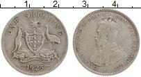 Изображение Монеты Австралия 1 шиллинг 1925 Серебро VF Георг V