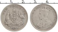 Изображение Монеты Австралия 1 шиллинг 1927 Серебро XF Георг V