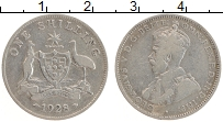 Изображение Монеты Австралия 1 шиллинг 1928 Серебро VF Георг V