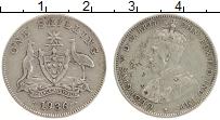 Изображение Монеты Австралия 1 шиллинг 1936 Серебро XF Георг V