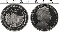Изображение Монеты Виргинские острова 1 доллар 2005 Медно-никель UNC Елизавета II. Свадьб