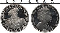 Изображение Монеты Виргинские острова 1 доллар 2007 Медно-никель UNC Елизавета II.Генрих
