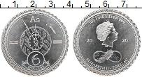 Изображение Монеты Токелау 6 долларов 2020 Серебро Proof