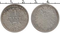 Изображение Монеты Германия 1 марка 1875 Серебро XF- C
