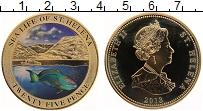 Изображение Монеты Остров Святой Елены 25 пенсов 2013 Медно-никель UNC Морская жизнь