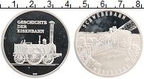 Изображение Монеты Германия Медаль 0 Серебро Proof- Поезд SCHWEBEBAHN