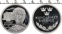 Изображение Монеты Швеция Медаль 0 Серебро Proof Ульрика Элеонора