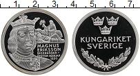 Изображение Монеты Швеция Медаль 0 Серебро Proof Магнус Эрикссон