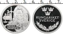 Изображение Монеты Швеция Медаль 0 Серебро Proof Фредрик I