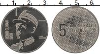 Изображение Монеты Швейцария 5 франков 1989 Медно-никель UNC- Генри Гуйсан