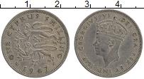 Изображение Монеты Кипр 1 шиллинг 1947 Медно-никель XF Георг VI