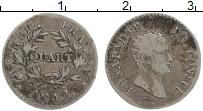 Изображение Монеты Франция 1 кварто 1803 Серебро XF Наполеон I