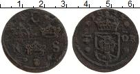 Изображение Монеты Швеция 1/4 эре 1635 Медь XF- Кристина
