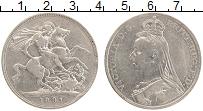 Изображение Монеты Великобритания 1 крона 1891 Серебро VF Виктория