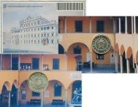 Изображение Подарочные монеты Италия 5000 лир 1993 Серебро UNC