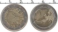 Изображение Монеты Финляндия 2 евро 2015 Биметалл UNC- Ян Сибелиус