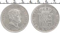 Изображение Монеты Неаполь 120 гран 1854 Серебро XF Фердинанд II
