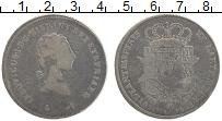 Изображение Монеты Тоскана 1 франческоне 1803 Серебро VF Людовик