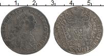 Изображение Монеты Австрия 17 крейцеров 1753 Серебро XF Франц I (Кремница)
