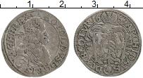 Изображение Монеты Австрия 3 крейцера 1669 Серебро XF Леопольд