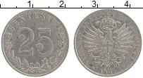Изображение Монеты Италия 25 сентесимо 1902 Медно-никель XF Виктор Эммануил III