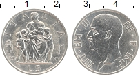 Изображение Монеты Италия 5 лир 1937 Серебро XF Виктор Эммануил III