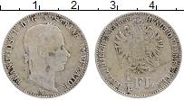 Изображение Монеты Австрия 1/4 флорина 1859 Серебро XF- Франц Иосиф I (Милан