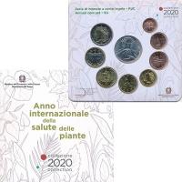 Изображение Подарочные монеты Италия Набор 2020 года 2020  UNC В набор входят восем