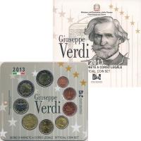 Изображение Подарочные монеты Италия Набор 2013 года 2013  UNC В набор входят восем