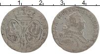 Изображение Монеты Пруссия 6 грошей 0 Серебро VF Фридрих II Великий