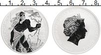 Изображение Монеты Тувалу 1 доллар 2020 Серебро Proof Зевс