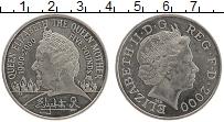 Изображение Монеты Великобритания 5 фунтов 2000 Медно-никель UNC 100 лет Королеве-мат