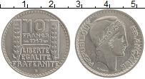 Изображение Монеты Франция 10 франков 1949 Медно-никель UNC- В