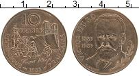Изображение Монеты Франция 10 франков 1985 Бронза UNC- 100 лет со дня смерт