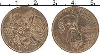 Изображение Монеты Франция 10 франков 1984 Бронза UNC- 200 лет со дня рожде