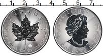 Изображение Монеты Канада 5 долларов 2021 Серебро UNC Кленовый лист