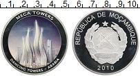 Изображение Монеты Мозамбик Жетон 2010 Посеребрение Proof