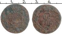 Изображение Монеты 1762 – 1796 Екатерина II 1 копейка 1769 Медь VF