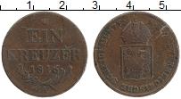 Изображение Монеты Австрия 1 крейцер 1816 Медь XF А Герб