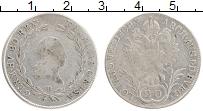 Изображение Монеты Австрия 20 крейцеров 1802 Серебро XF Франц II