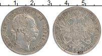 Изображение Монеты Австрия 1 флорин 1887 Серебро XF Франс Иосиф I