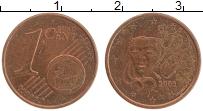 Изображение Монеты Франция 1 евроцент 2003 Бронза XF