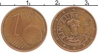 Изображение Монеты Австрия 1 евроцент 2005 Бронза XF