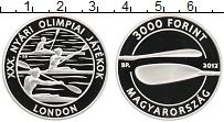 Изображение Монеты Венгрия 3000 форинтов 2012 Серебро Proof Олимпийские игры в Л