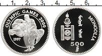 Изображение Монеты Монголия 500 тугриков 1997 Серебро Proof Олимпийские игры. Бо