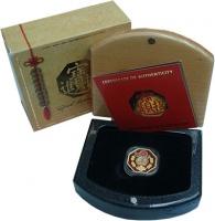 Изображение Подарочные монеты Тувалу 28 долларов 2008 Золото Proof