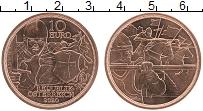 Изображение Монеты Австрия 10 евро 2020 Медь UNC С кольчугой и мечом.