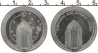 Изображение Монеты Португалия 5 евро 2020 Медно-никель UNC Готика