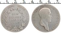 Изображение Монеты Пруссия 1 талер 1813 Серебро VF+ А Фридрих Вильгельм